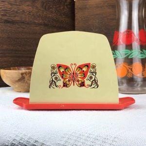 Groovy 70s Butterfly Napkin Holder